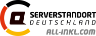 hosted with servers in Germany by all-inkl.com